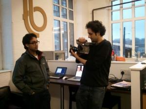 Writer Arivind Abraham and Director Mazin Power