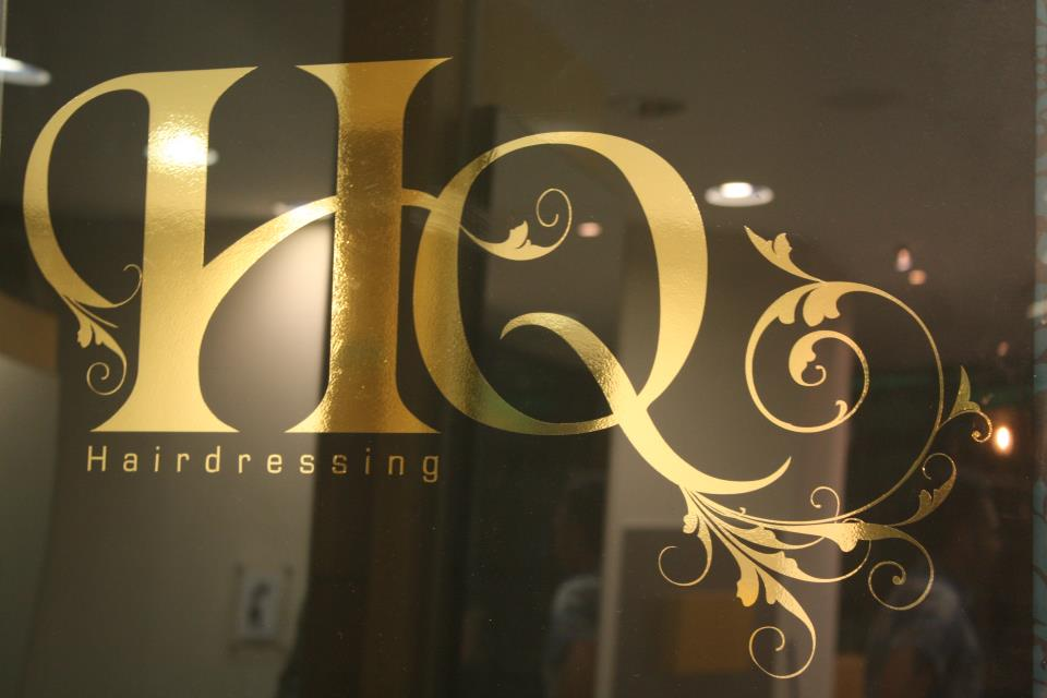 HQ Hairdressing Salon web site from Chaos Created