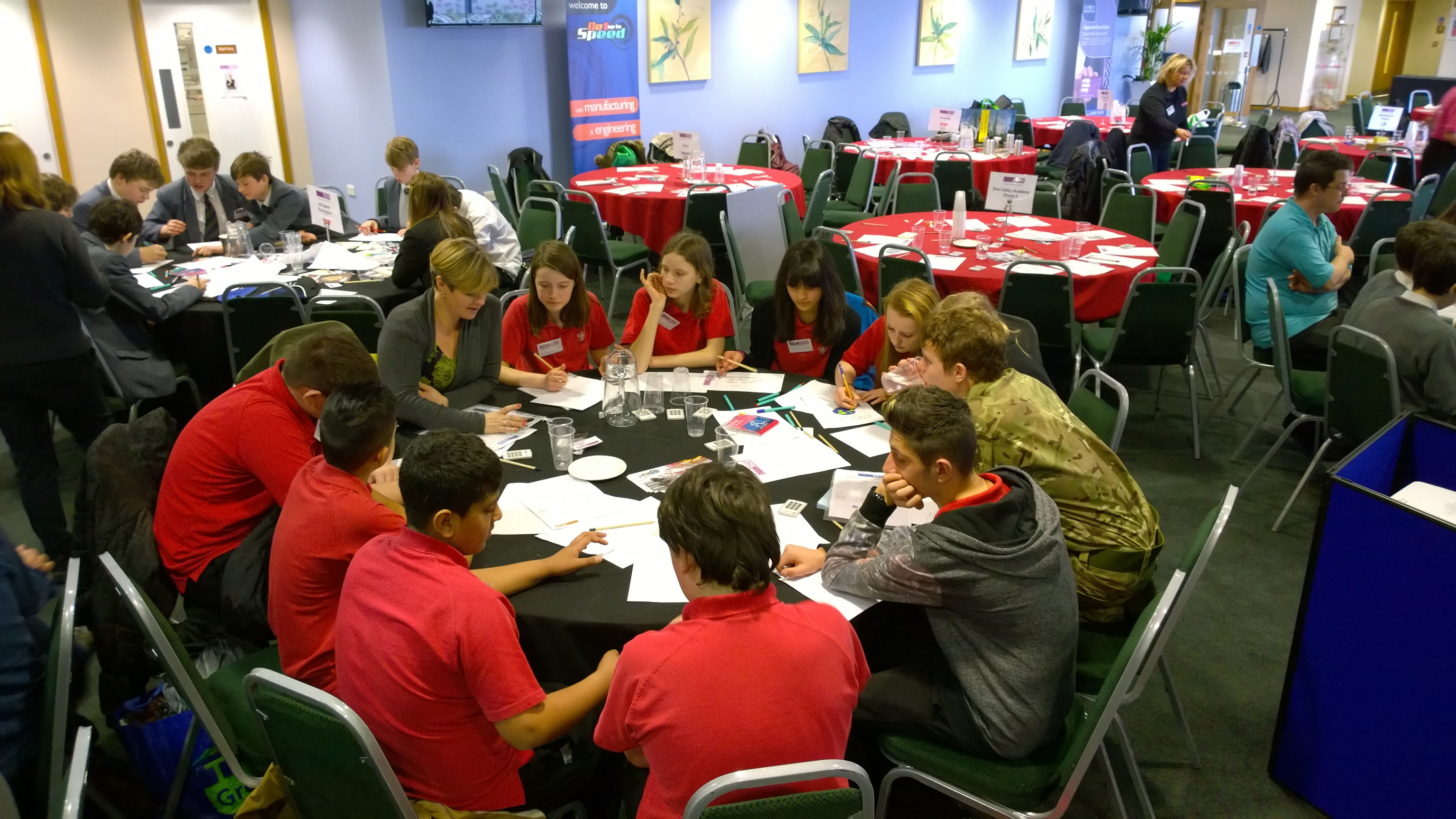 Chaos Created working with TeenTech on workshops in Swansea, Basingstoke and Humber