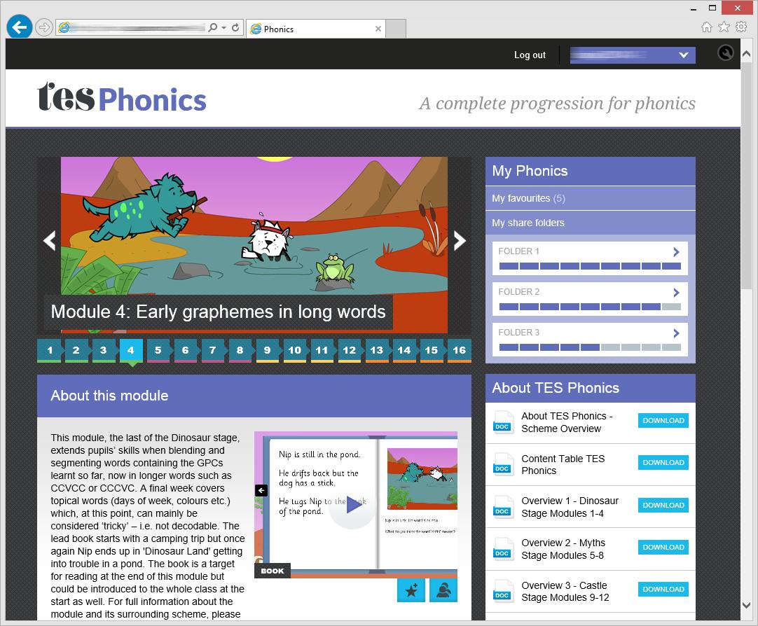 TES Phonics