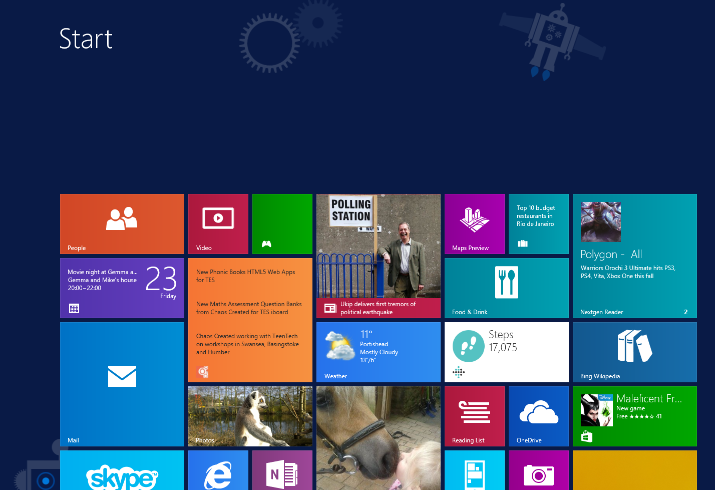 Using Windows 8/Surface? Pin us for our latest news!