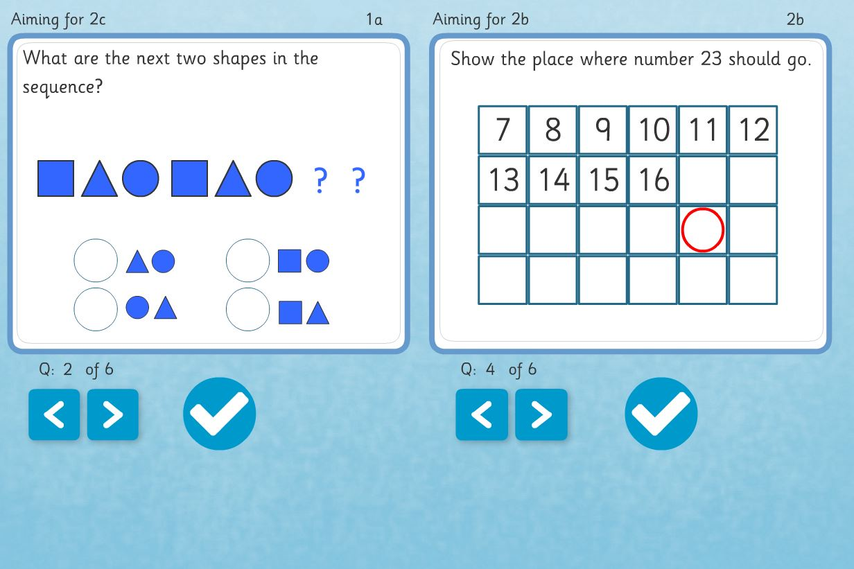 More Maths Assessment Question Banks from Chaos Created for TES iboard