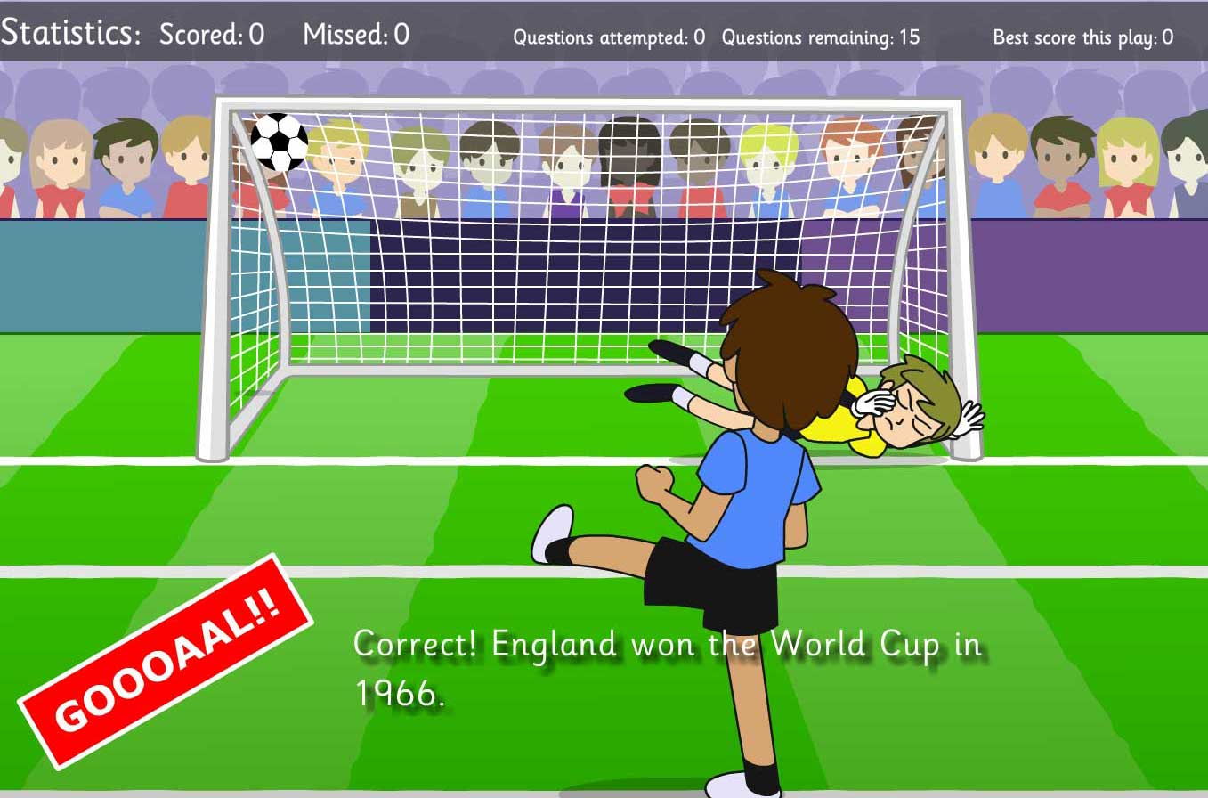 New World Cup Educational Games from Chaos Created