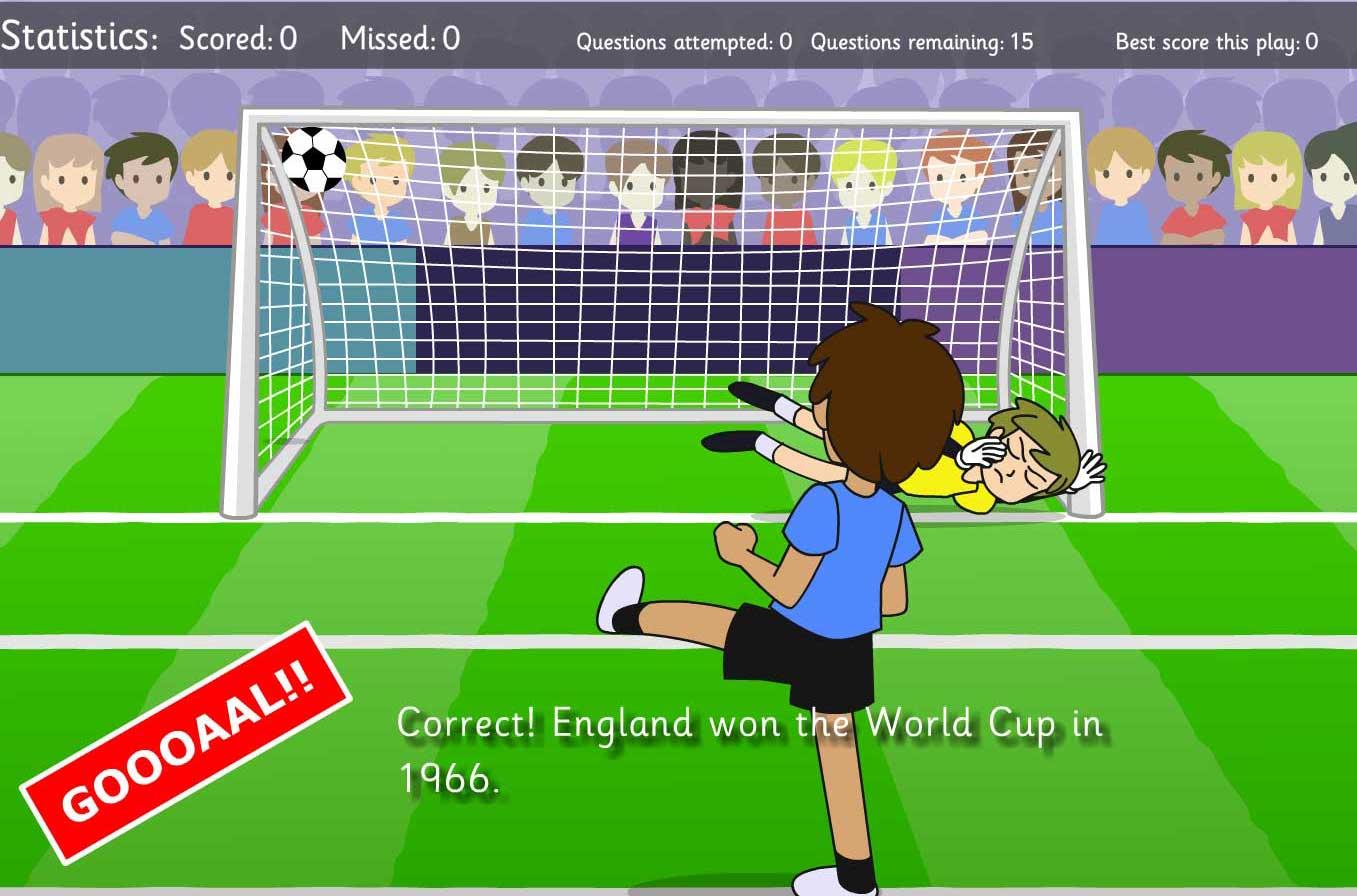 World Cup Interactive Quiz