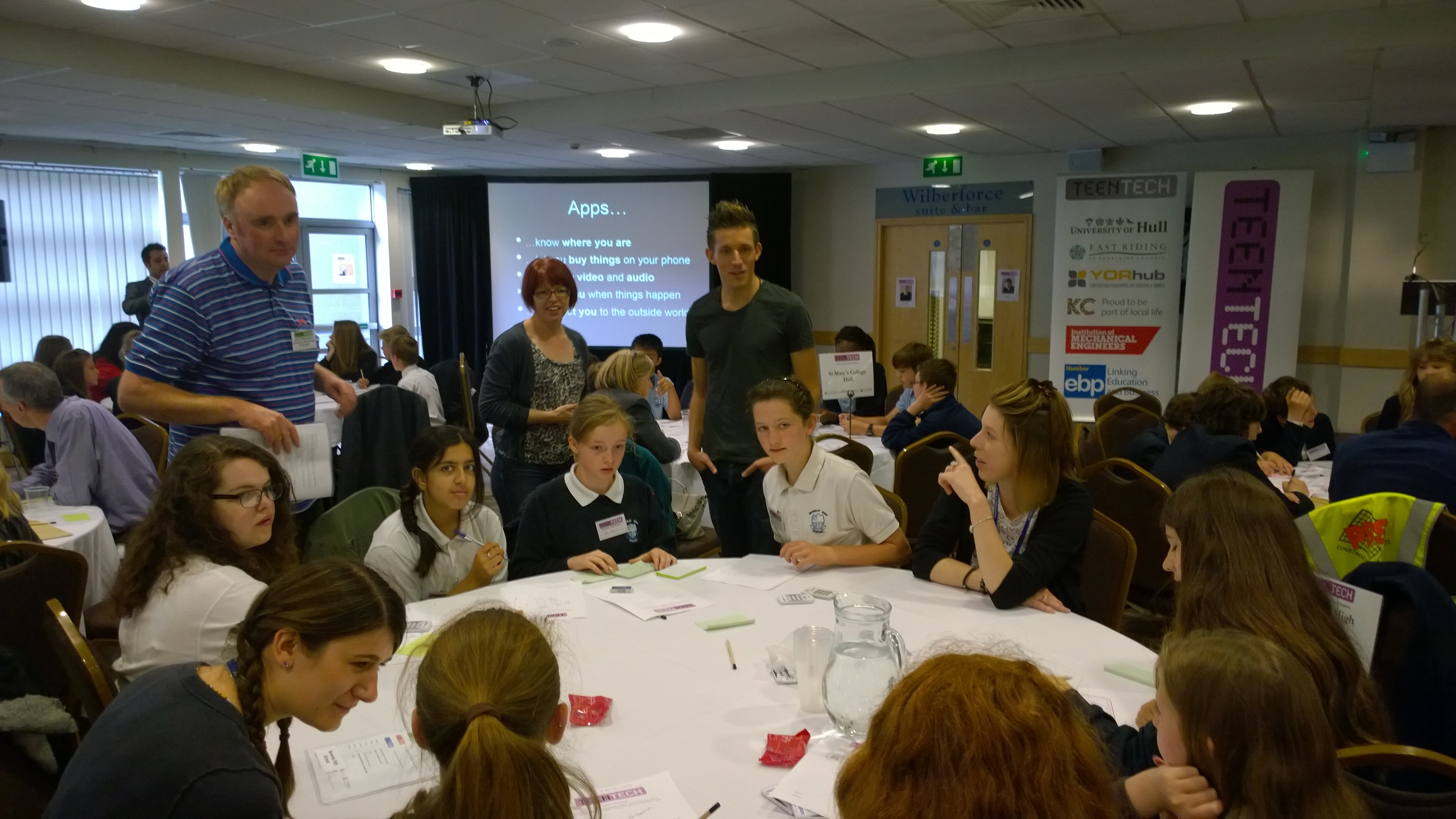 Chaos Created at TeenTech Events in 2016