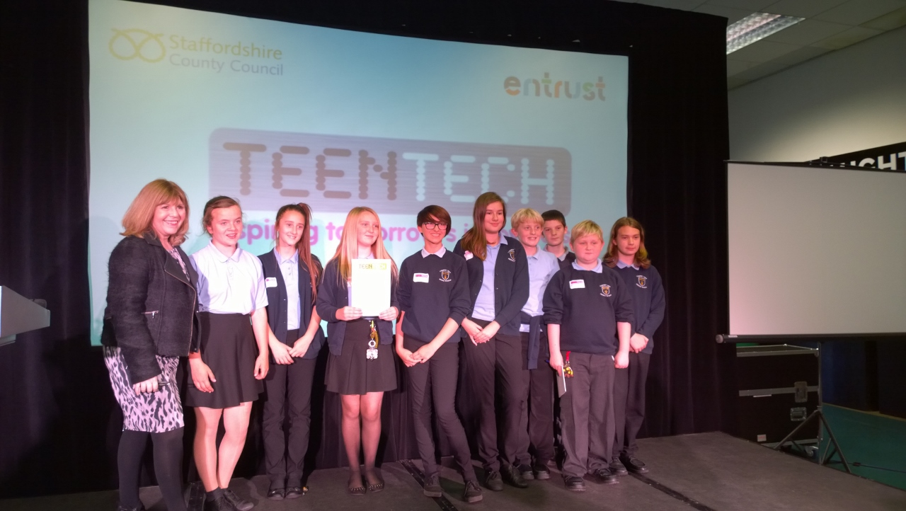 Chaos Created at TeenTech events in Staffordshire and Kent