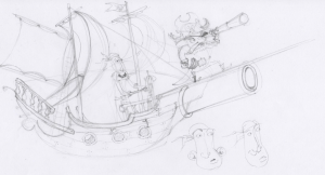 Pirate Concept (Bad Day for a Balloon Ride)