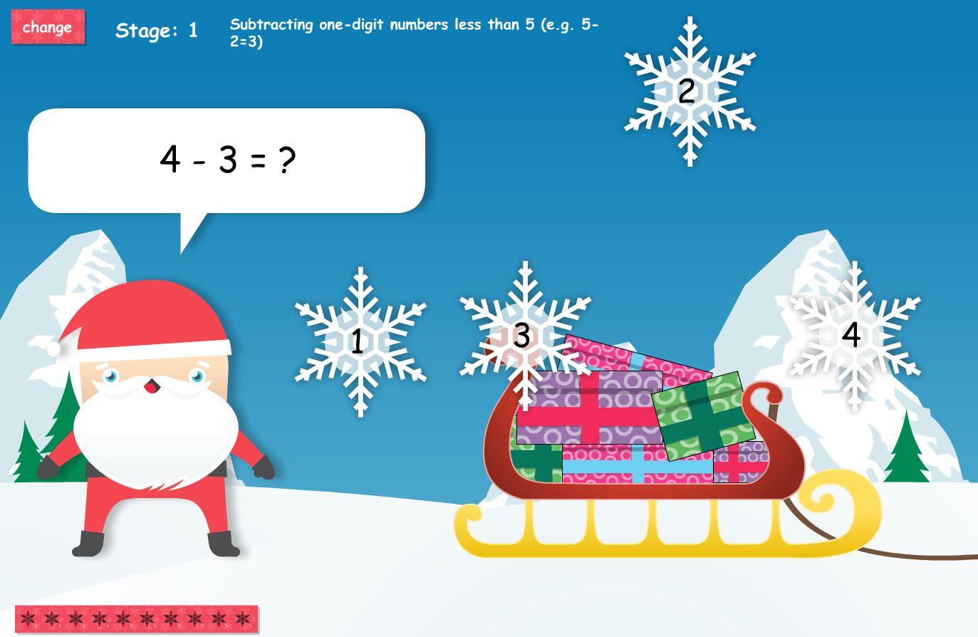 Christmas Educational Games
