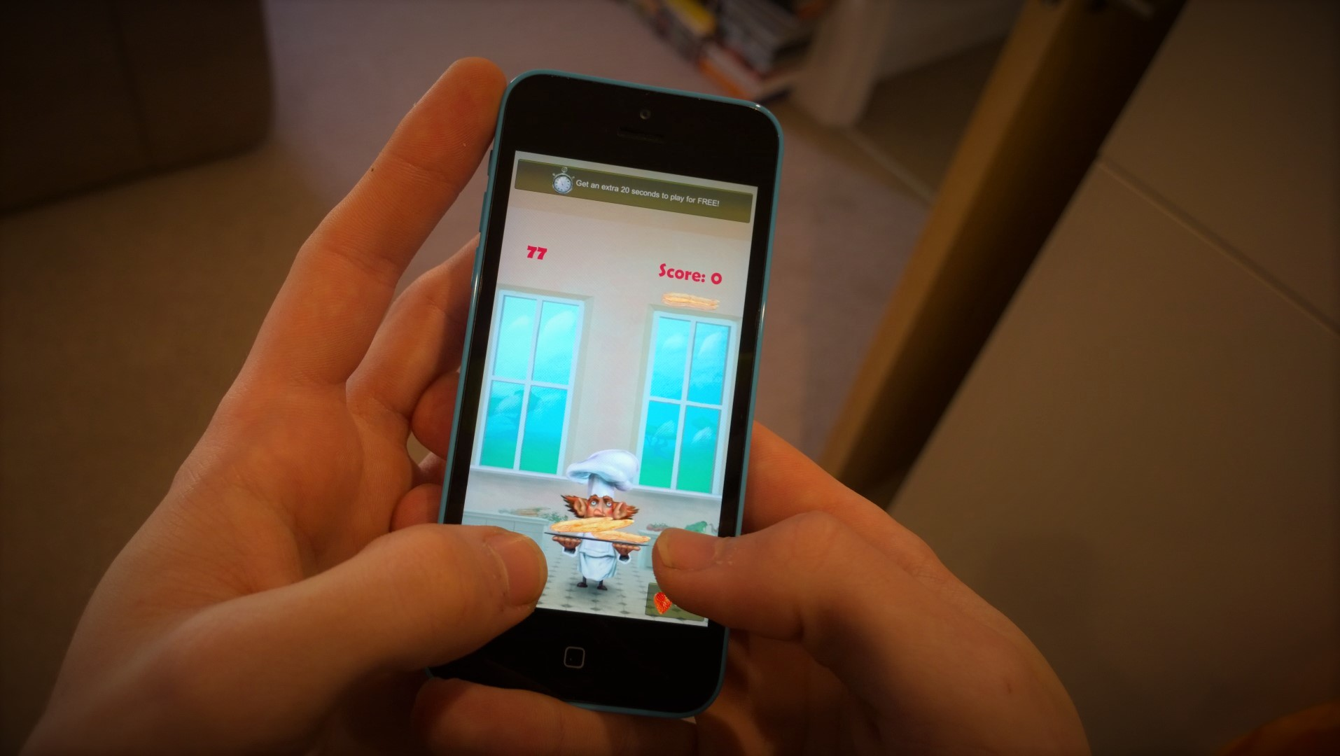 Pancake Panic launches on iOS and Kindle Fire!