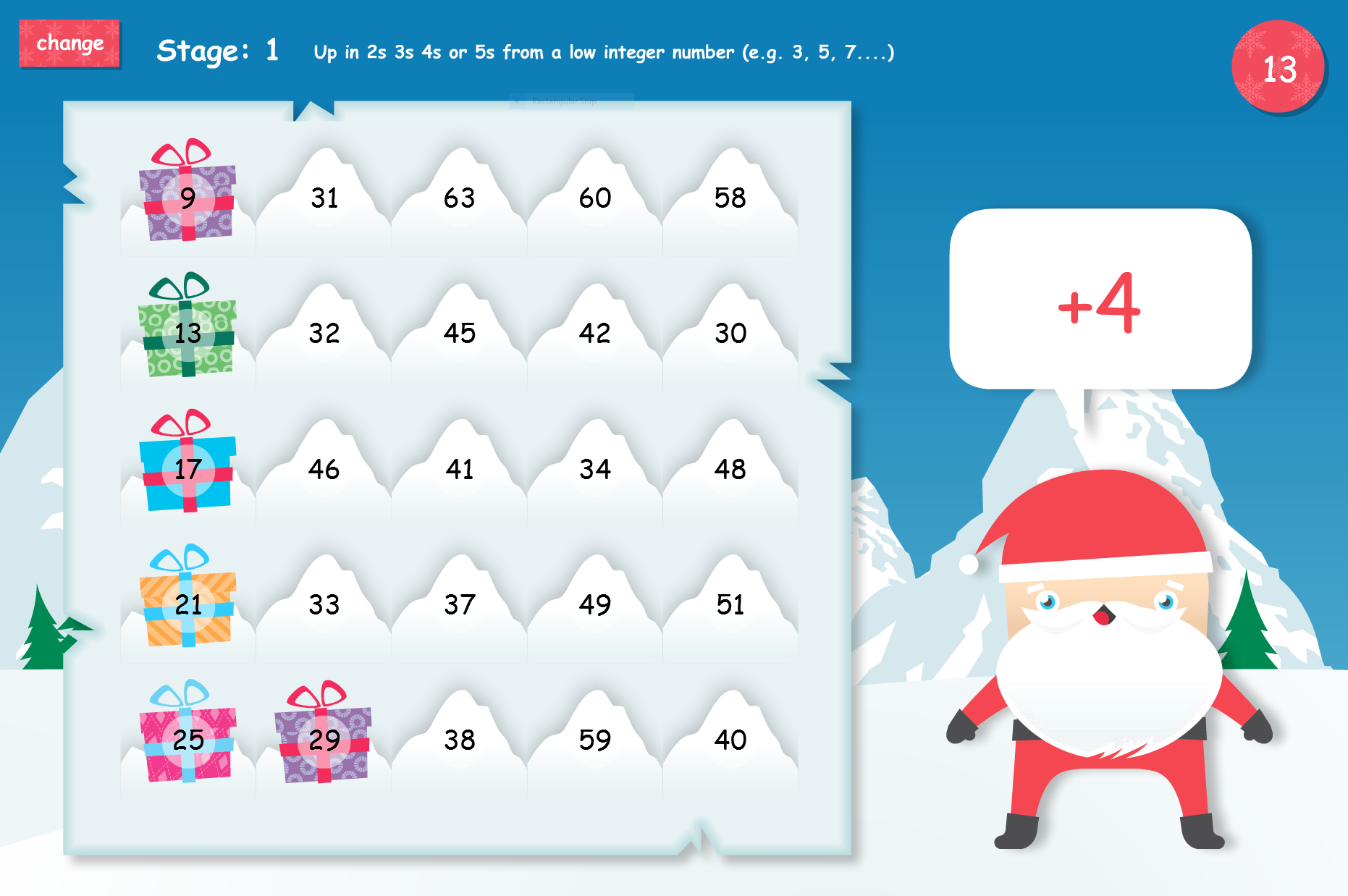 Christmas Educational Games from Chaos Created