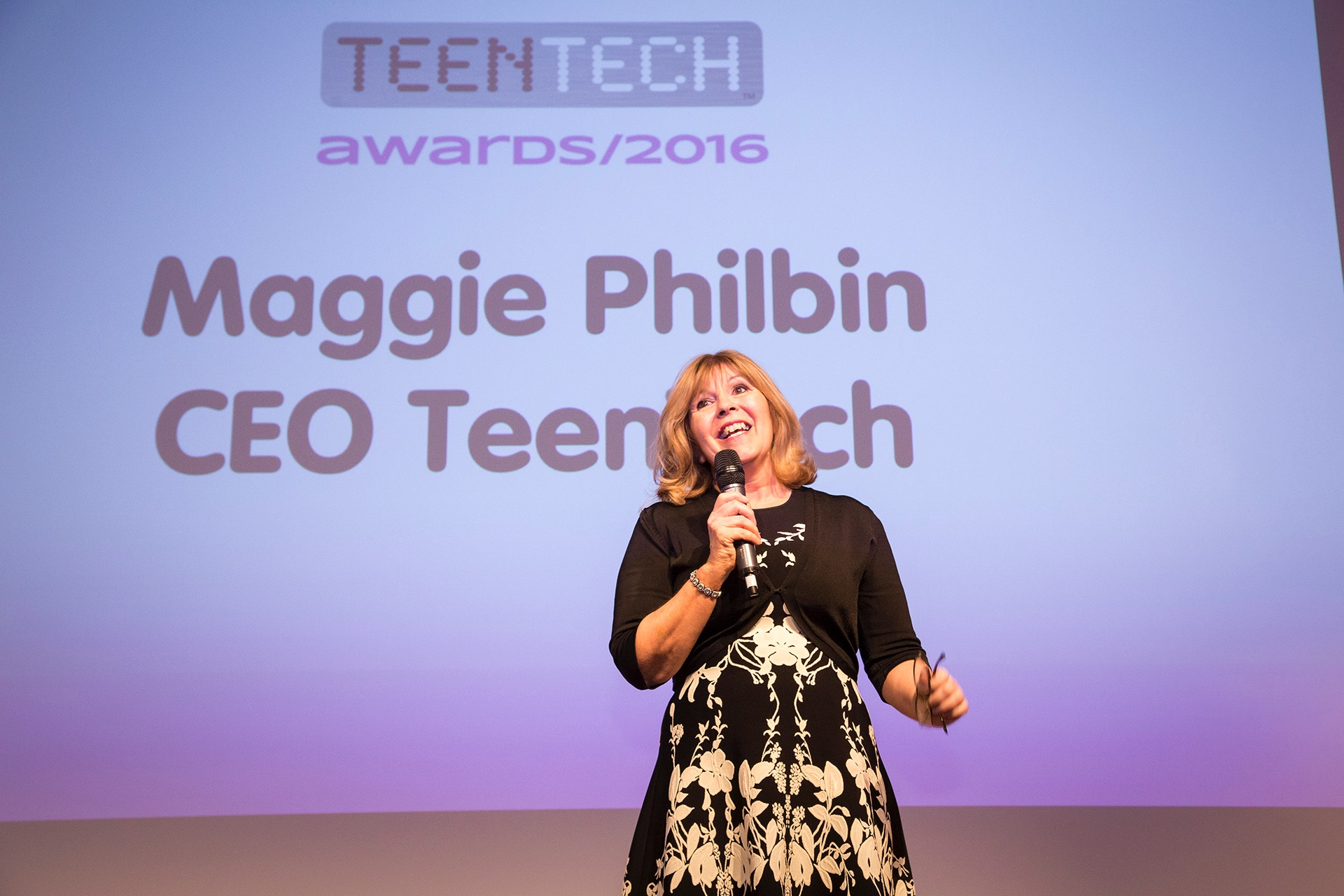 Chaos Created launches new website for television presenter and TeenTech CEO Maggie Philbin