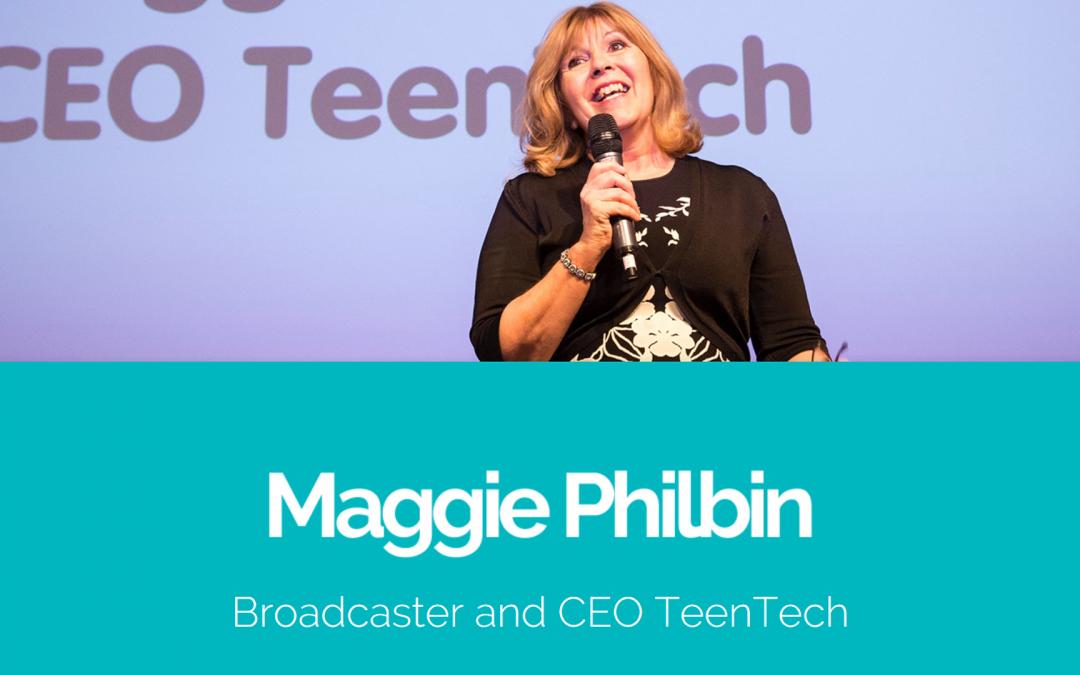 Maggie Philbin's website