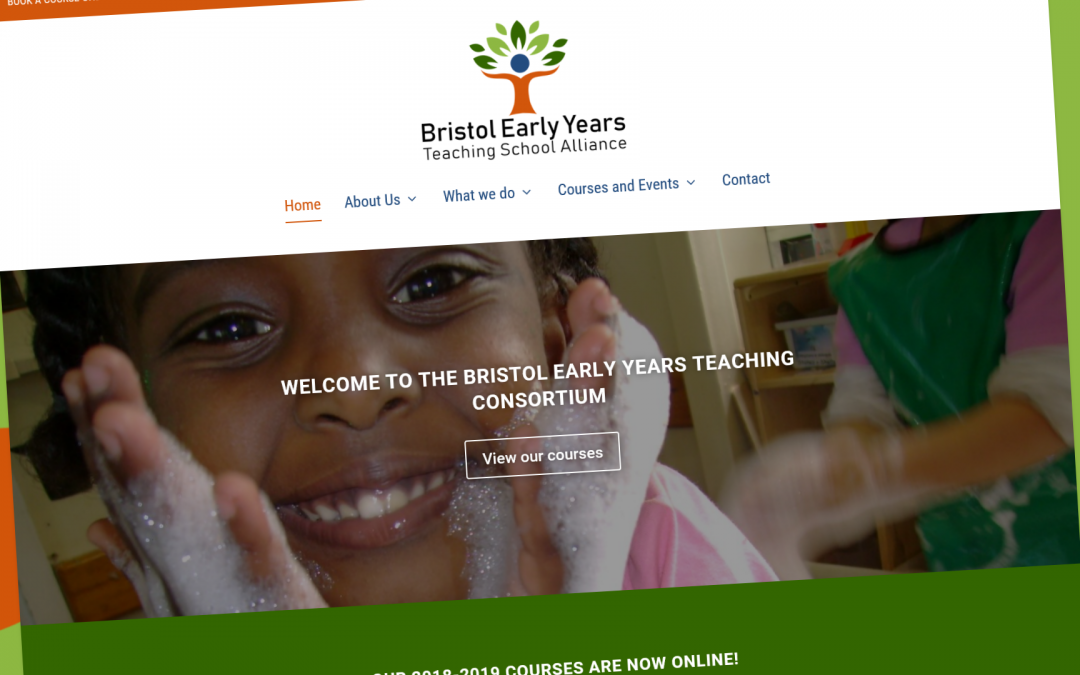 Chaos Created launches new branding, website, and booklet for Bristol Early Years Teaching School Alliance