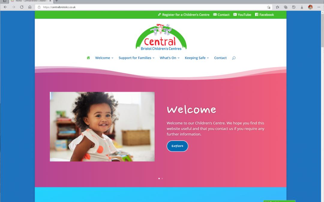 Central Bristol Children's Centres Website